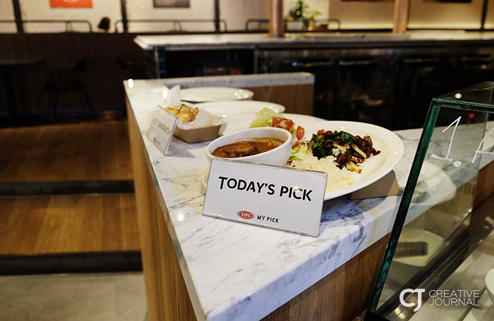 """如果患有""""选择障碍""""也可以选择厨师推荐的今日之选 Today's Pick"""