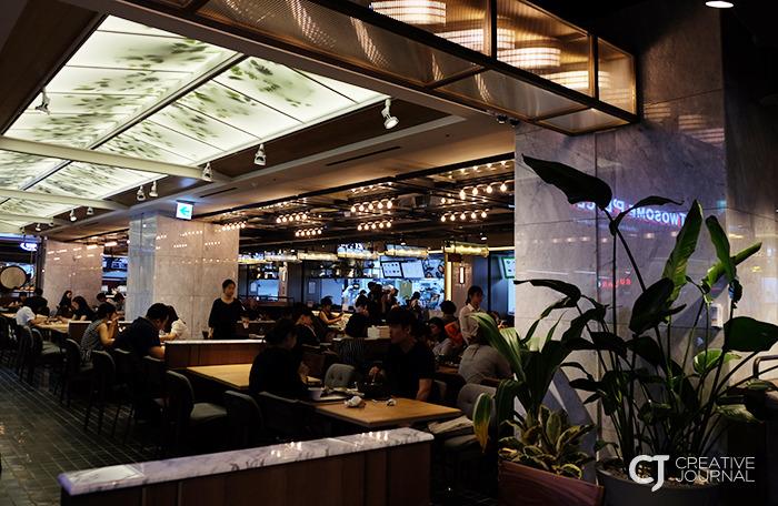 在城市中心打造美食回忆的绿色空间,CJ FoodWorld COEX Mall店